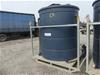 <B>PVC Tank mounted on Galvanised stand</B> <li>with lifting lugs </li> <