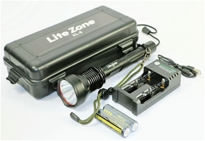 LITEZONE Super Bright LED Torch Recharge