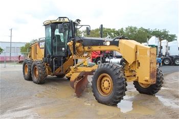 2011 Caterpillar 12M Motor Grader