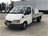 1999 Ford Transit VG Turbo Diesel Automatic Cab Chassis 137,933km