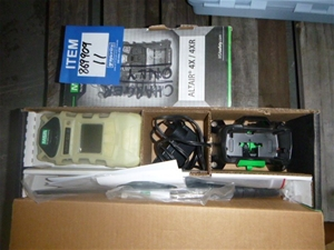 MSA Altair Gas Detector and Chargers