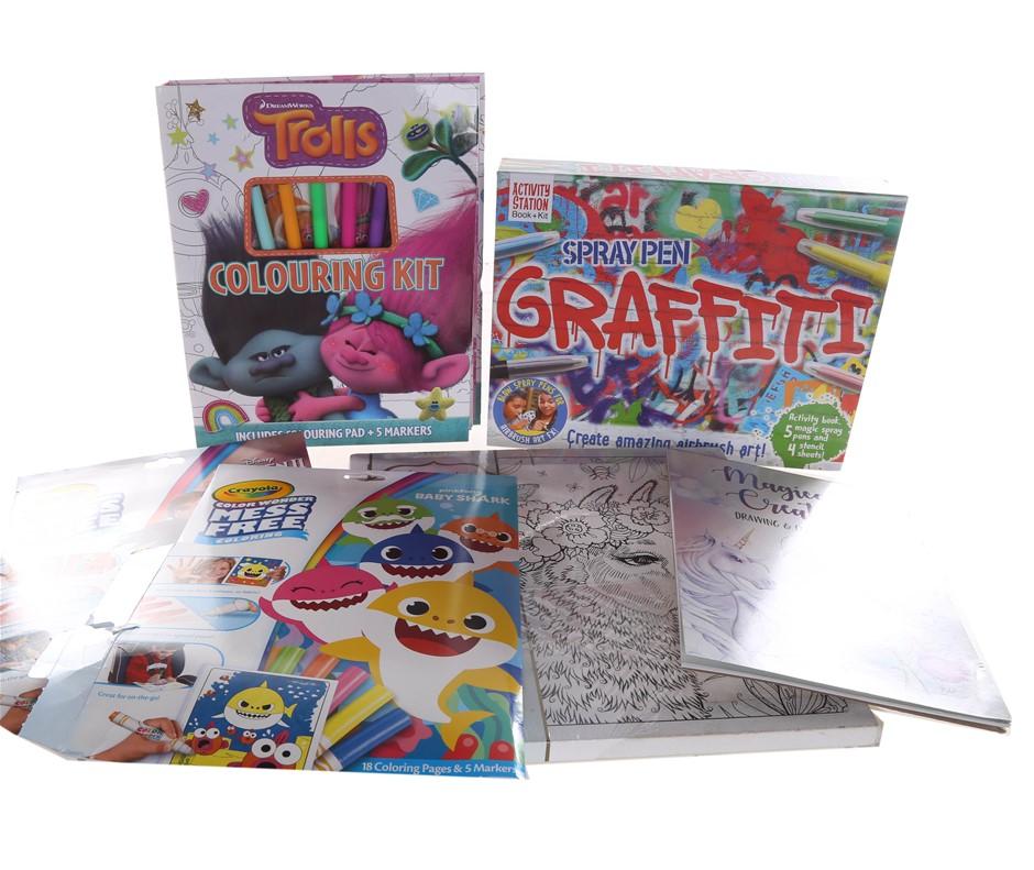 4 x Assorted Children`s Toys, Comprising; Spray Pen Graffiti Lovely Llama C