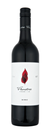 Flametree Margaret River Shiraz 2017 (12x 750mL). WA.