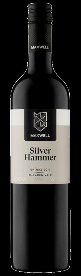 Maxwell Silver Hammer Shiraz 2017 (12x 750mL). McLaren Vale, SA.