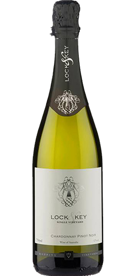 Moppity Lock & Key Sparkling Chardonnay Pinot 2018 (12x 750mL). NSW.