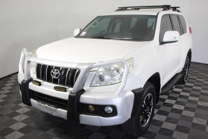 2009 (2010) Toyota Landcruiser Prado GXL (4x4) T/Diesel 7 Seats Wagon