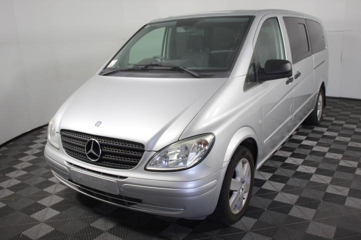2010 Mercedes Benz Vito 120CDI EXTRA LONG 3.0T/D Auto 114,494 km's