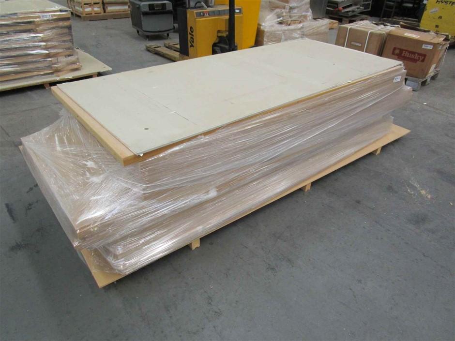 Pallet of 6 x Solidcore Timber Doors