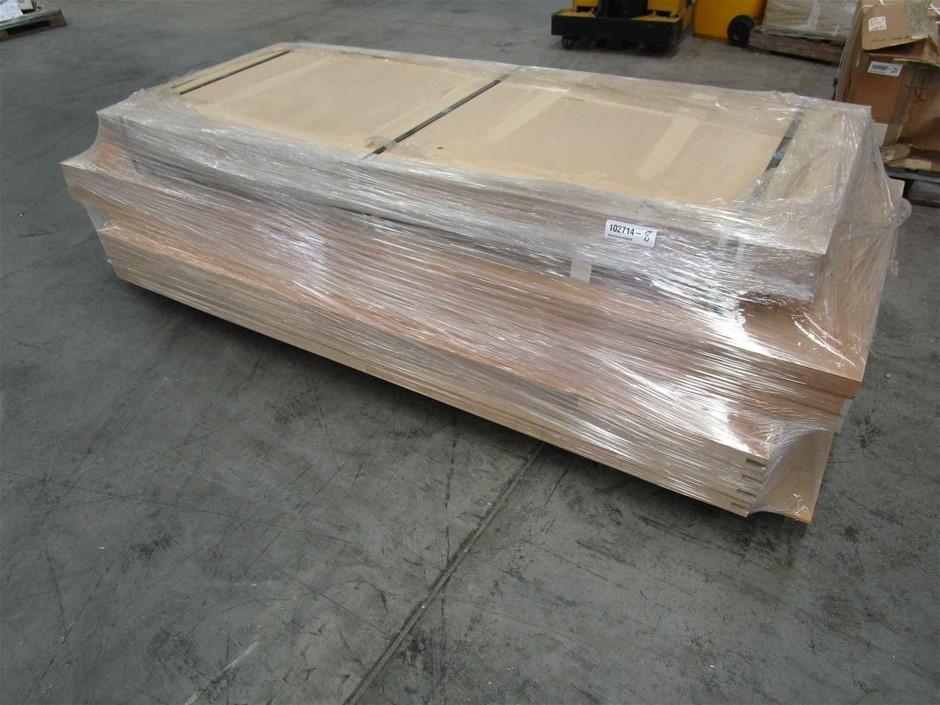 Pallet of 11 x Solidcore Timber Doors