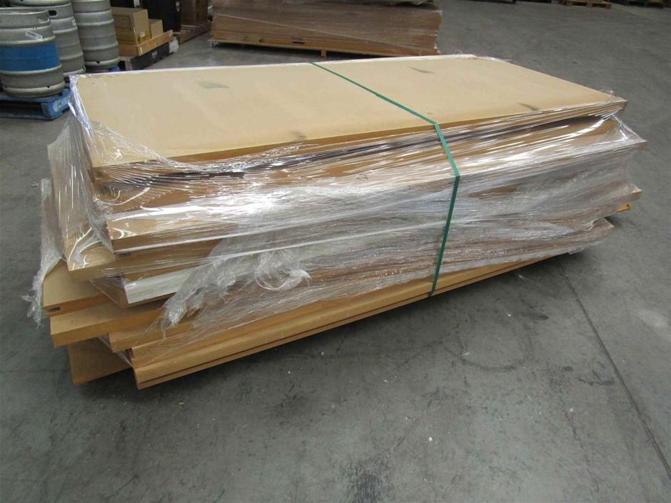 Pallet of 18 x Assorted Timber Doors