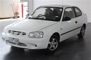 2002 Hyundai Accent GL LS Automatic Hatc