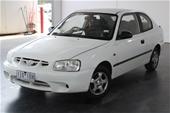 2002 Hyundai Accent GL LS Automatic