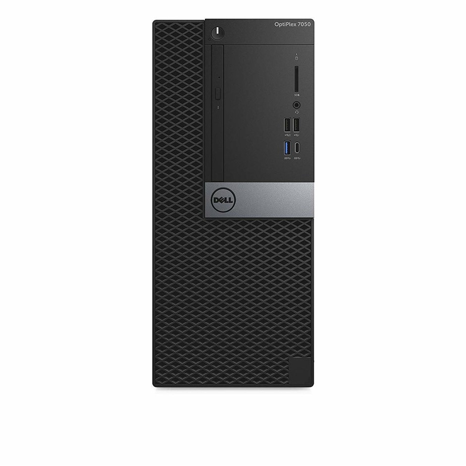 Dell OptiPlex 7050 Small Form Factor (SFF) Desktop PC, Black