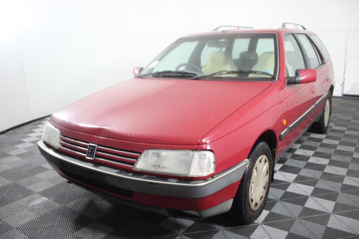 1995 Peugeot 405 SRDT D70 Turbo Diesel Manual Wagon