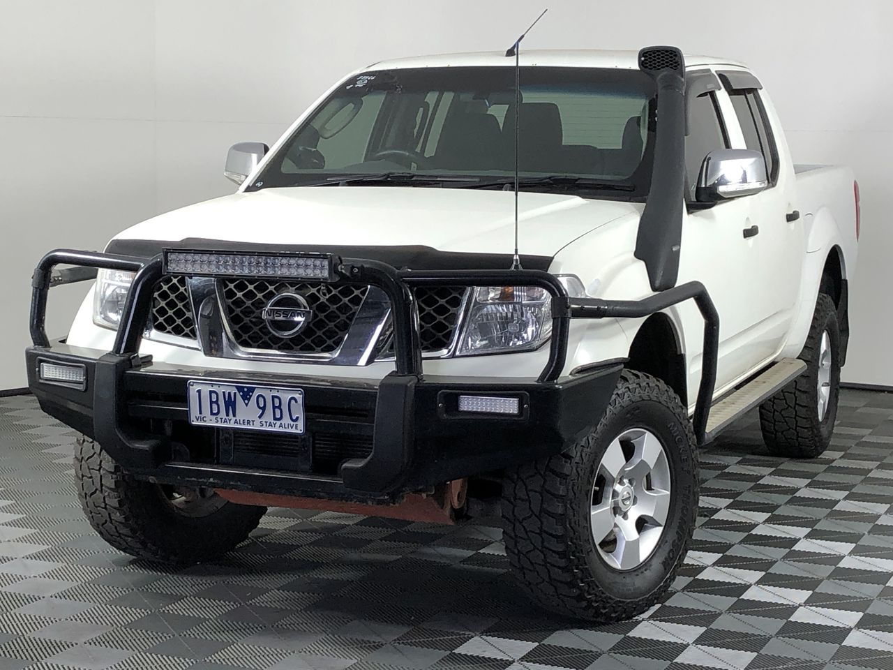 2006 Nissan Navara STX (4x4) D40 Turbo Diesel Automatic Dual Cab