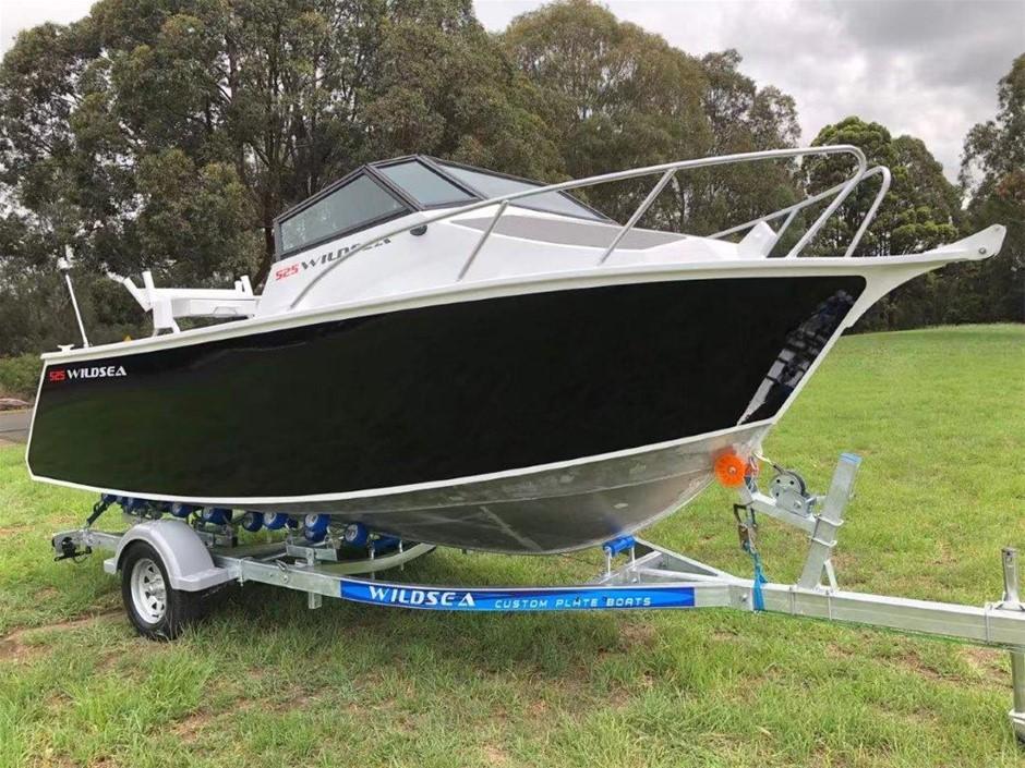 2021 WILDSEA 525 Cuddy Cabin Aluminium Boat & Trailer