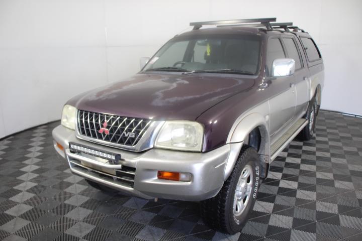 2004 Mitsubishi Triton GLS (4x4) MK Manual Dual Cab (WOVR)