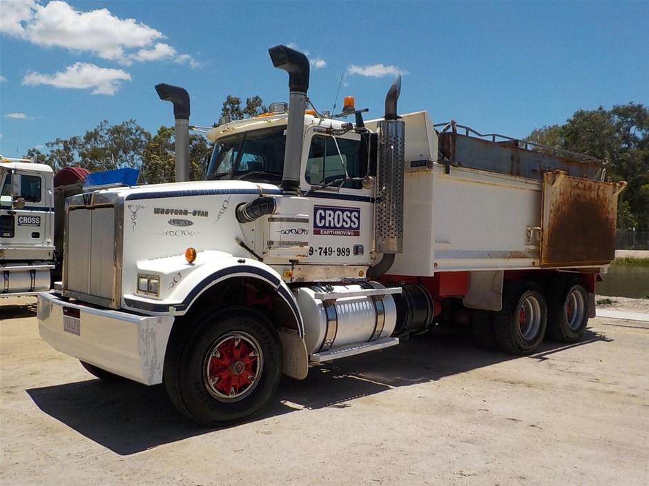 1998 Western Star 4865 Series 6 x 4 Tipper Truck