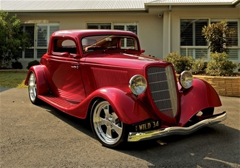 1934 Ford 3 Window RWD Automatic Hot Rod 2019 Build