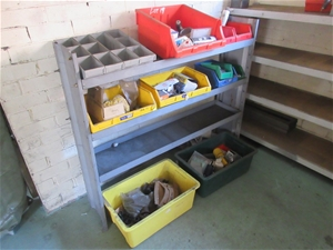 Workshop Shelf and Contents