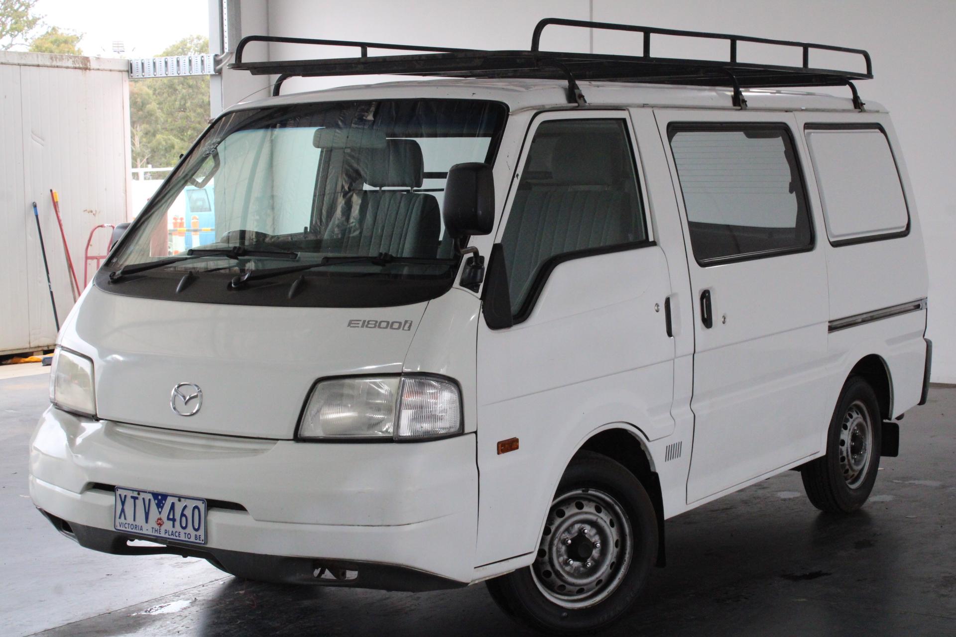 2003 Mazda E1800 (SWB) Manual Van (WOVR)