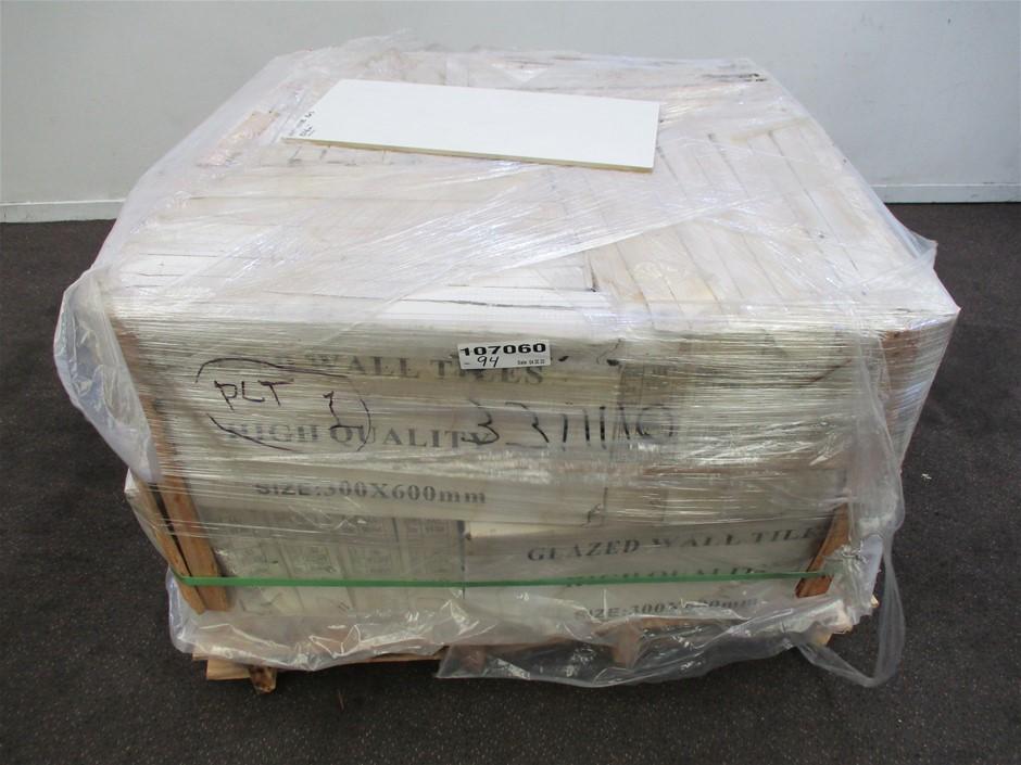 Pallet of Matt Wall Tile