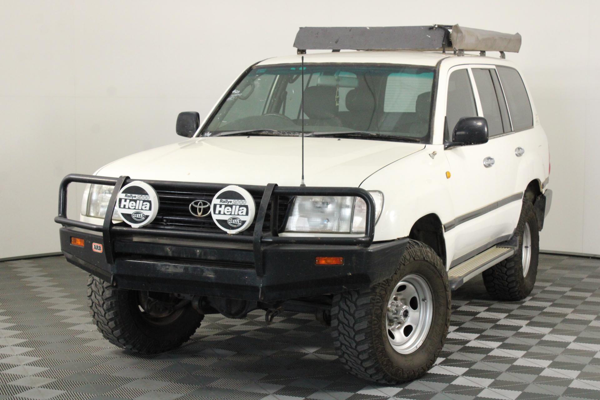 2001 Toyota Landcruiser (4x4) HZJ105R Manual Wagon
