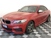 Unreserved 2014 BMW 235i M-Sport F22- 8 Speed Coupe