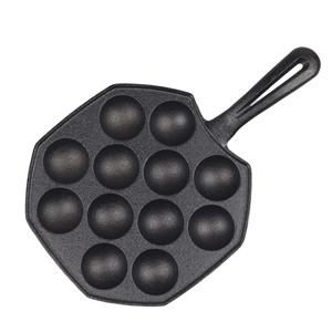 SOGA 18CM Cast Iron Non Stick Takoyaki F