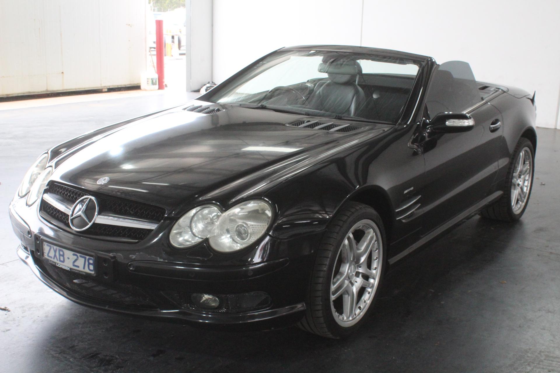2004 Mercedes Benz SL500 R230 Automatic Convertible