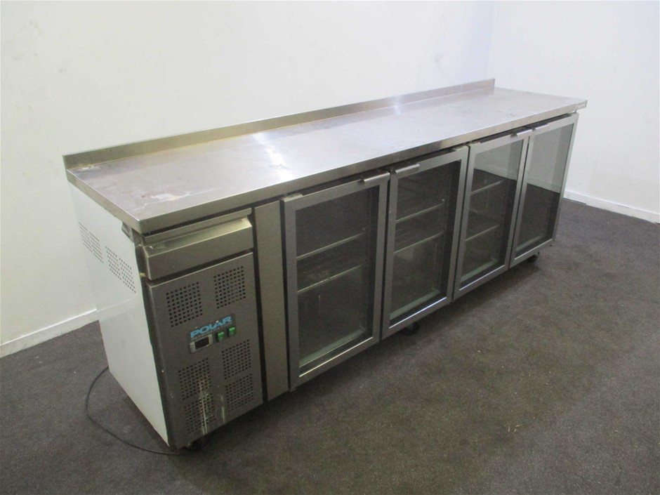 Polar CK492-A-02 Stainless Steel Under Counter Bench Chiller
