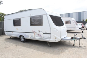 2007 Geist International 4 Berth Caravan