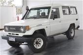 Unreserved 1991 Toyota Landcruiser V8 (Ford) Dual Fuel Wagon