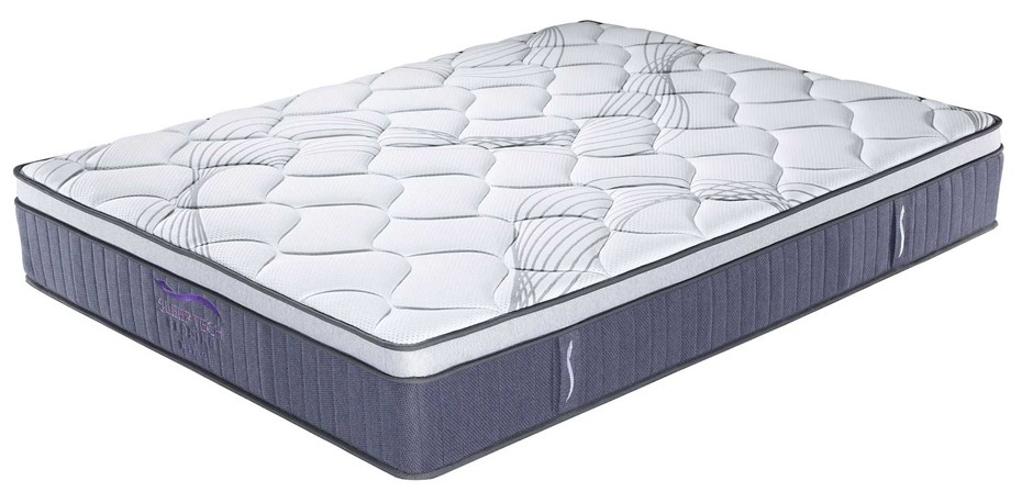 Sleeptech Bed in a Box 3 Zone Pocket Spring Mattress - KING SINGLE