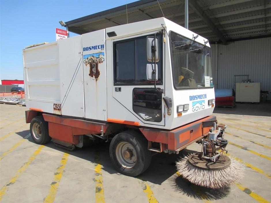 1996 Gavia SRL 4,50 Road Sweeper & Parts (Pooraka, SA)
