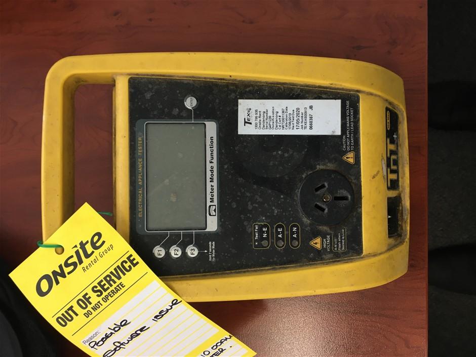Wavecom TnT+ Portable Appliance Tester