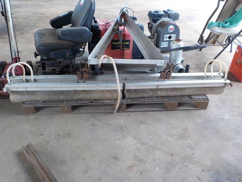 Herbicide Wiper Tractor Attachment