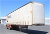 1998 Freighter ST3 Triaxle Curtainsider Trailer