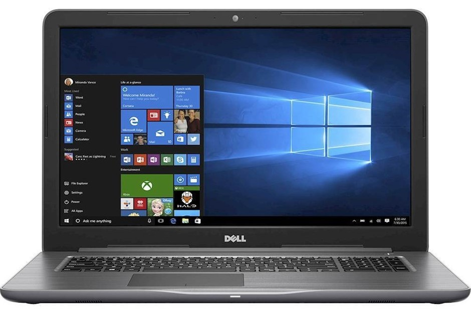 Dell Inspiron 17 5767 17-inch Notebook, Grey
