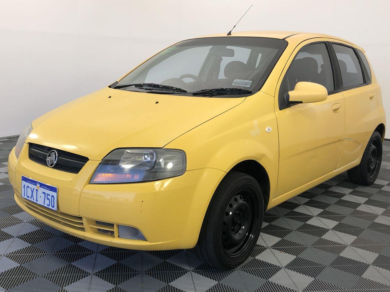 2006 Holden Barina TK Manual Hatchback
