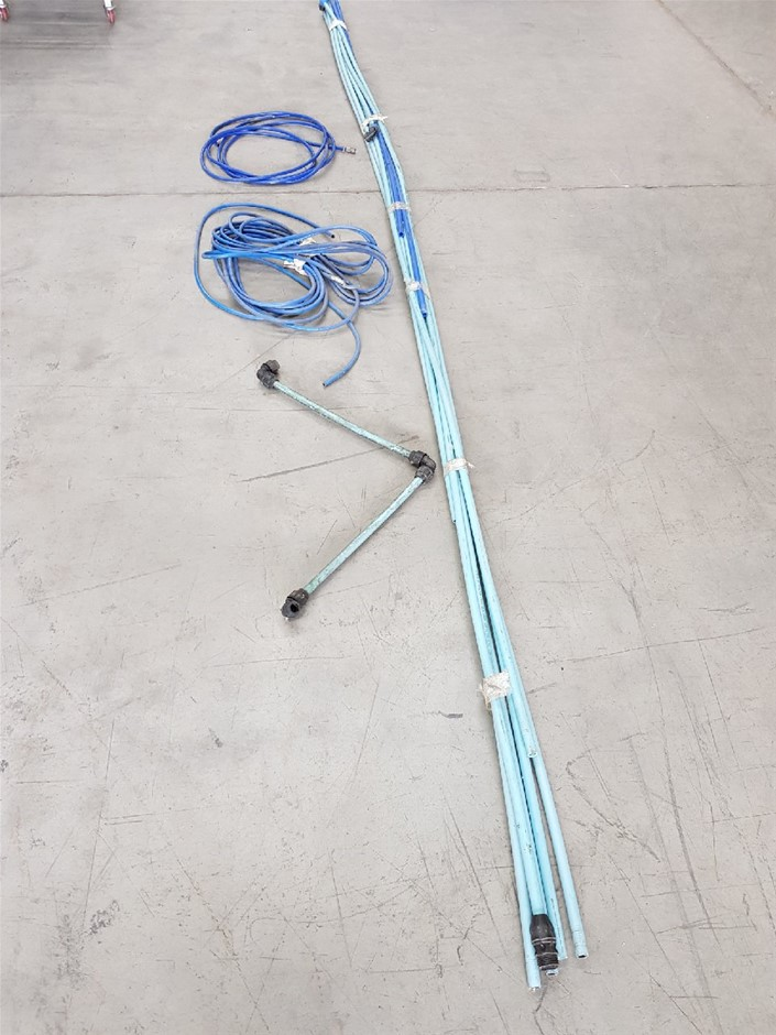 Qty. PVC 25mm COMPRESSED AIR PIPE