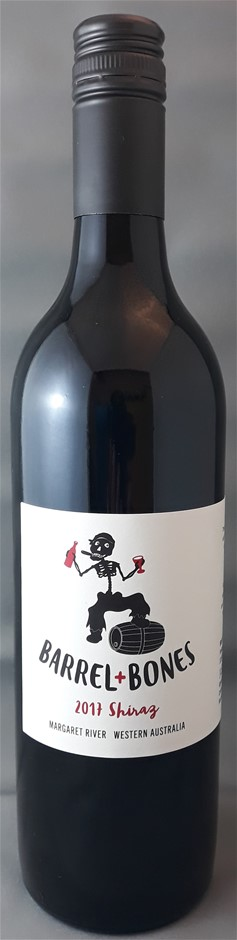 Barrel + Bones Shiraz 2017 (12 x 750mL) Margaret River, WA