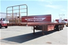 2003 Freighter 45' Triaxle Flat Top Trailer