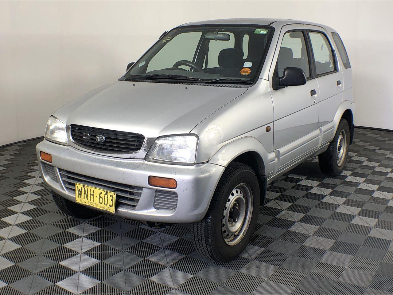 2000 Daihatsu Terios DX (4x4) J100 Manual Wagon