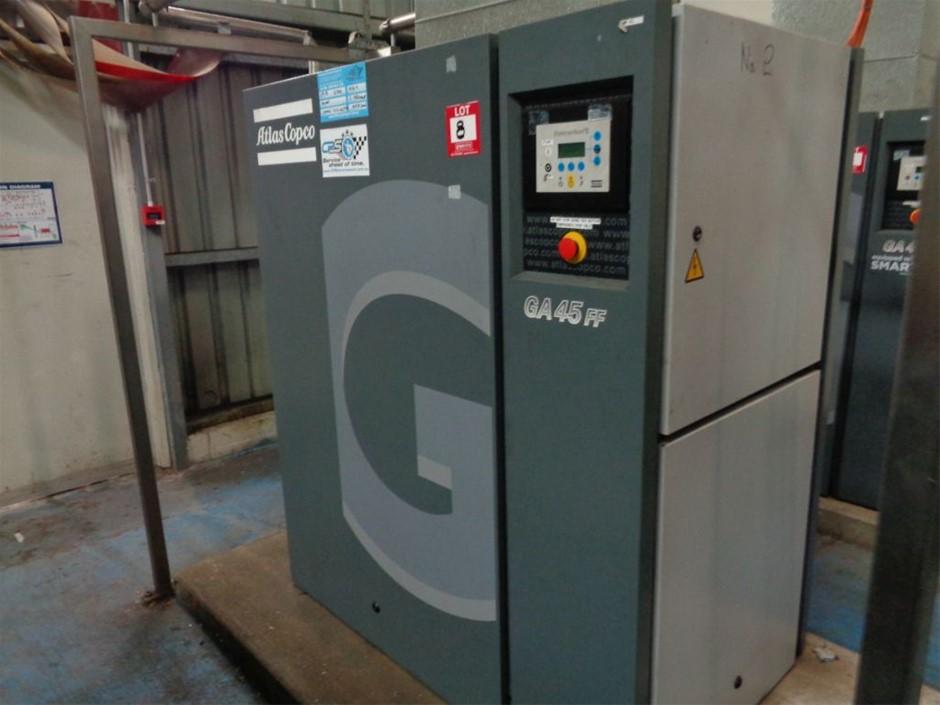 Atlas Copco Air Compressor GA45FF