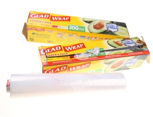 3 x GLAD Caterer`s Pack Cling Wrap, 300M