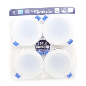 2 x MIRABELLA 4pk LED Downlights, Cool W