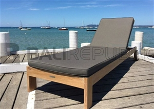 2 x SEMINYAK Sunloungers with Cushions a