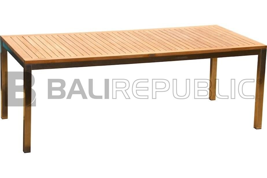 1 x Luxurious RENON 6-8 Seat Outdoor Dining Table by Bali Republic