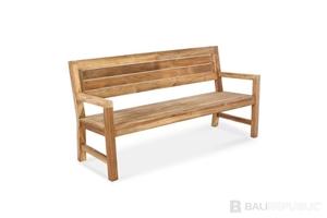 1 x Luxurious TEMBOK Bench Seat 150 by B